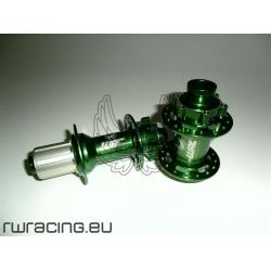 Coppia mozzi WRC DH / Freeride anodizzato Verde