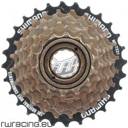 Cassetta / Pacco pignoni bici Shimano TZ21 7v a filetto