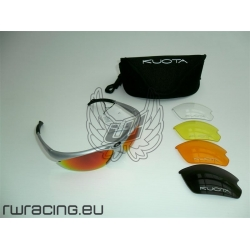 Occhiali da sole Kuota grigi + 5 lenti - per bici / peso 25 g