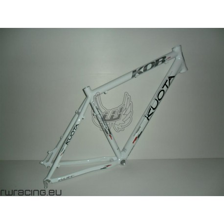 Telaio mtb / xc / crosscountry 26 in alluminio Kuota Kor bianco