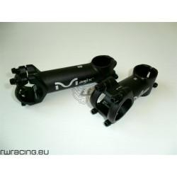 """Attacco manubrio nero Magix 2 da 31.8 mm x 1"""" e 1/8"""