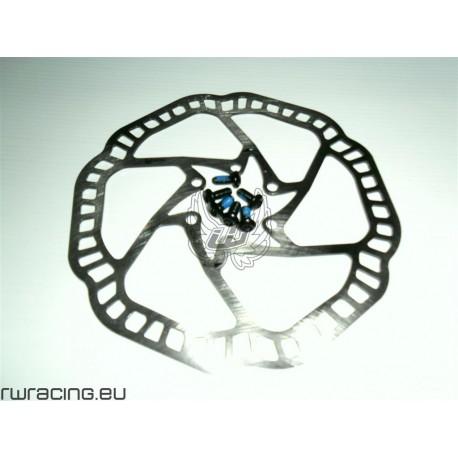 Freno a disco WRC bici / mtb - modello DR07 in acciaio inox 160 / 180 / 203 mm