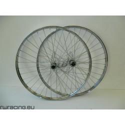Coppia ruote bici classiche tipo R 26 x 1 3/8