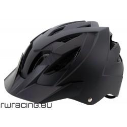 Casco bici / mtb / bmx nero opaco Ventura taglia M o L