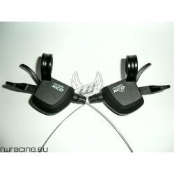 Trigger / Comandi cambio 10x3 Microshift Marvo XCD per bici / mtb