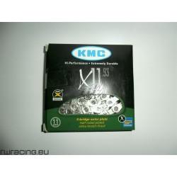 Catena KMC X 11.93 silver , per bici / mtb / corsa / strada