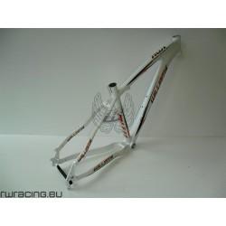 Telaio mtb 27.5 per bici / xc / crosscountry in alluminio Williams a disco , bianco