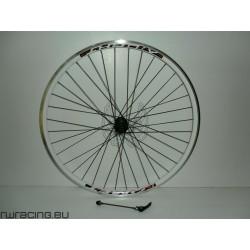 """Ruota posteriore 28"""" per bici da trekking v-brake / a cassetta"""