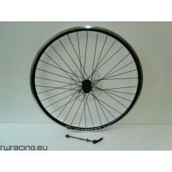"""Ruota posteriore 28"""" per bici da trekking v-brake / a cassetta - new"""