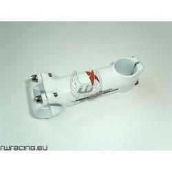 Pipa / attacco manubrio bianco TKX per bici / mtb