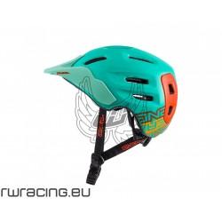 Casco Oneal Defender verde / arancio