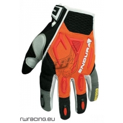 Guanti bici / mtb / freeride / downhill ENDURA MT500 arancioni