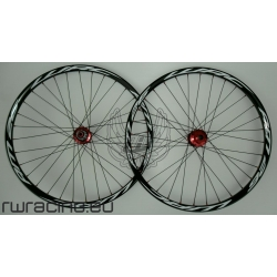 "Ruote mtb / All Mountain WRC NERE da 26"" TUBELESS"