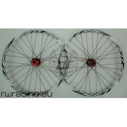 Ruote mtb / All Mountain WRC Bianche da 26""
