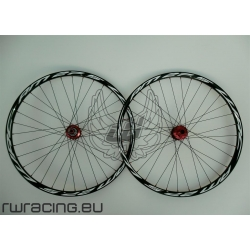 "Ruote mtb / All Mountain WRC NERE da 27.5"" TUBELESS"