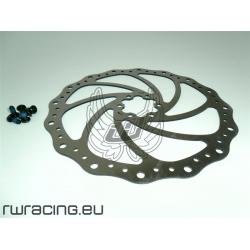 Disco freno Bonin 203 mm - per bici mtb / xc / fr / dh