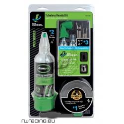 Tubeless ready kit trasformazione + CO2 + valvole + nastro