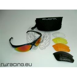 Occhiali da sole Kuota blu + 5 lenti - per bici / peso 25 g