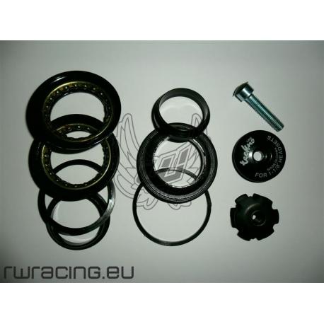 """Serie sterzo semi integrata Tektro 44 mm 1"""" e 1/8 per bici / mtb"""