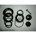 """Serie sterzo 1"""" e 1/8 semi integrata Tektro 44 mm per bici / mtb"""