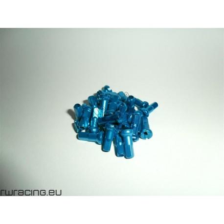 Nipples da 2 mm in ergal Arancioni / Azzurri / Blu / Rossi