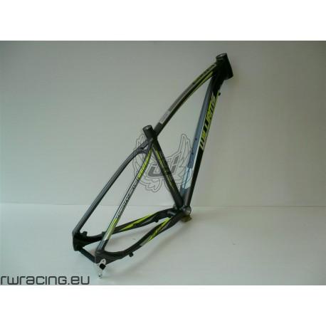 Telaio mtb 27.5 per bici / xc / crosscountry in alluminio Williams ANTRACITE / LIME/ a disco