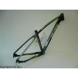 Telaio mtb 29 per bici / xc / crosscountry in alluminio Williams ANTRACITE / LIME/ a disco