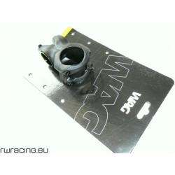 Attacco manubrio WAG nero opaco - lunghezza 40mm