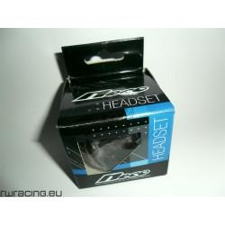 Heaset serie sterzo Neco 1 1/8 - 1 1/2 per bici / btb con sterzo conico