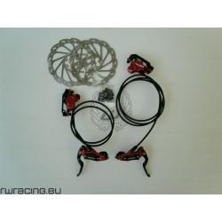 Impianto freni bici / mtb a disco Artek + dischi da 160 mm