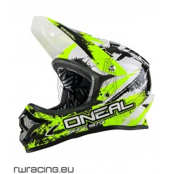 Casco Oneal Backflip Fidlock helmet RL Shocher Giallo