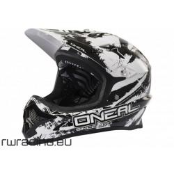 Casco Oneal Backflip Fidlock helmet nero / bianco
