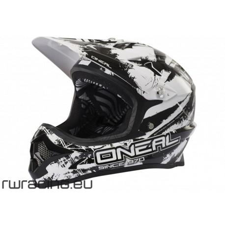 Casco Oneal Backflip Fidlock helmet RL Shocher nero / bianco