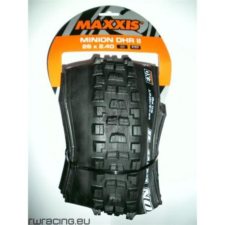 Copertone Maxxis DHR II 26 x 2.40 TR per bici da freeride / downhill