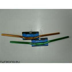 Manubrio mtb anodizzato verde o oro M-wave da 700 mm