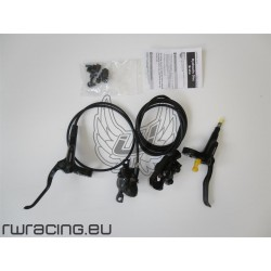 Impianto freni Shimano MT 200 anteriore + posteriore freni a disco idraulici