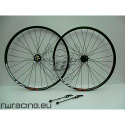 Coppia ruote XC 27,5 cerchio AMBROSIO per freno a disco
