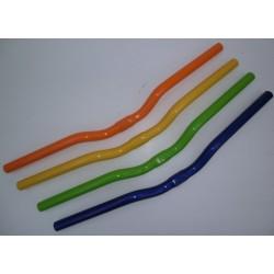 Manubrio TKX bianco per bici / mtb da 31.8 mm