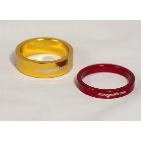 Distanziale spessore tubo forcella / manubrio ORO 28.6 , 1 1/8