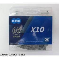 Catena KMC X 11L silver light, per bici / mtb / corsa / strada